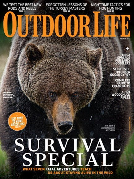 Outdoor Life Cover - 3/1/2013