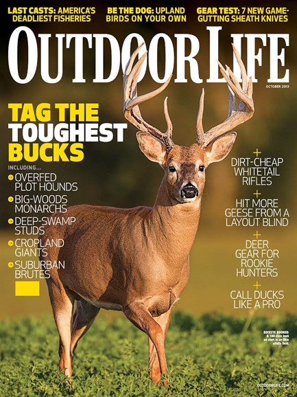 Outdoor Life Cover - 10/1/2013