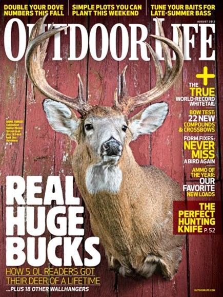 Outdoor Life Cover - 8/1/2012