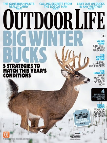Outdoor Life Cover - 12/1/2012