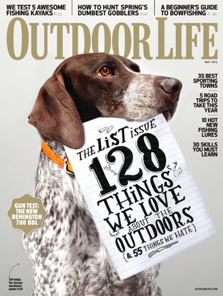 Outdoor Life Cover - 5/1/2012