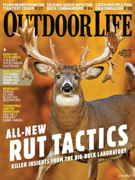 Outdoor Life Cover - 11/1/2012