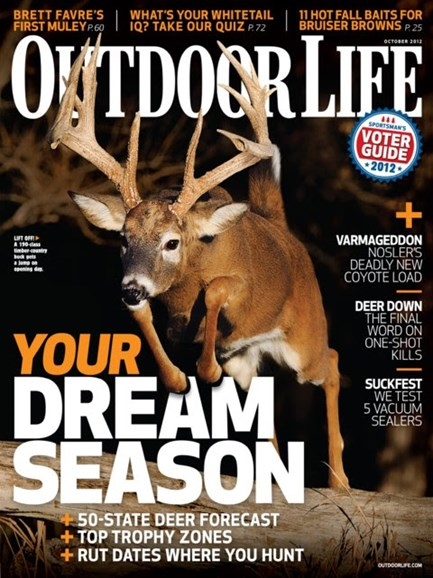 Outdoor Life Cover - 10/1/2012
