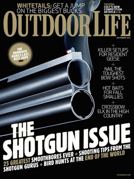 Outdoor Life Cover - 9/1/2012
