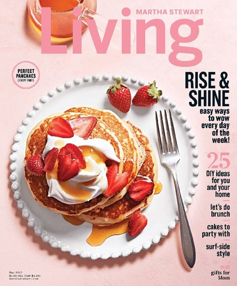 Martha Stewart Living Cover - 5/1/2017