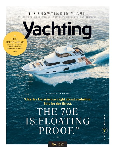 Yachting Cover - 2/1/2017