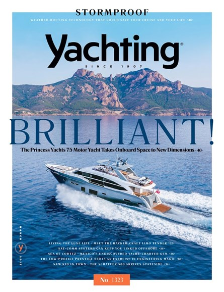 Yachting Cover - 3/1/2017