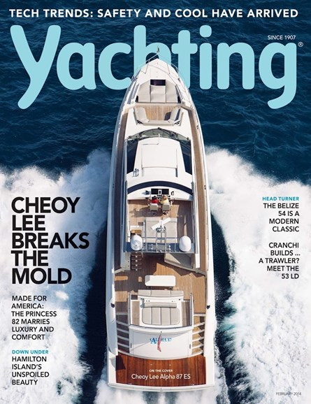 Yachting Cover - 2/1/2014