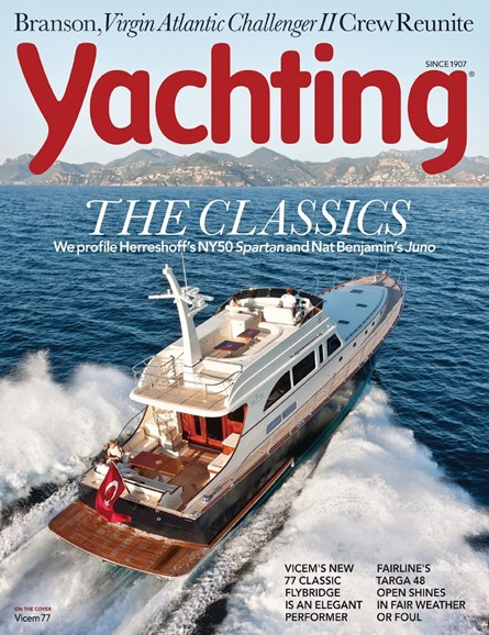 Yachting Cover - 1/1/2014