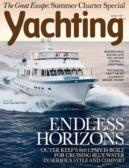 Yachting Cover - 3/1/2014