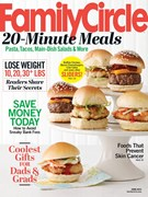 Family Circle Magazine 6/1/2014