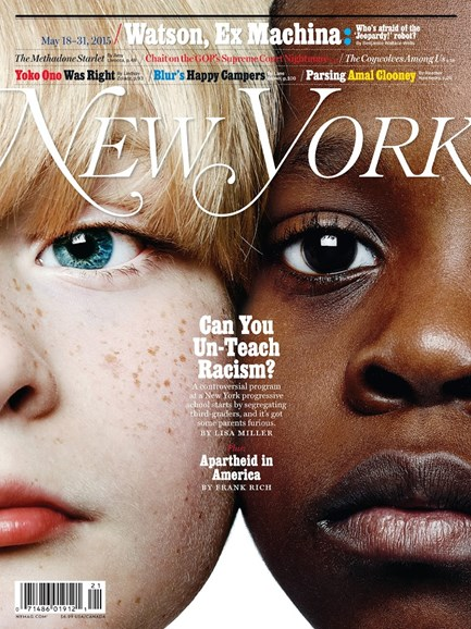 New York Magazine Cover - 5/18/2015