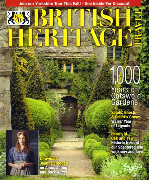 British Heritage Travel Cover - 5/1/2017