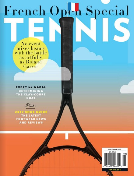 Tennis Magazine Cover - 5/1/2017