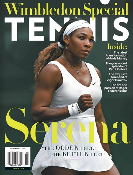 Tennis Magazine Cover - 7/1/2015