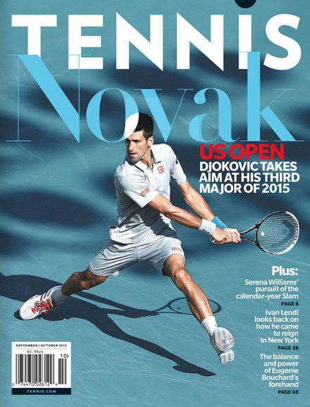 Tennis Magazine Cover - 9/1/2015
