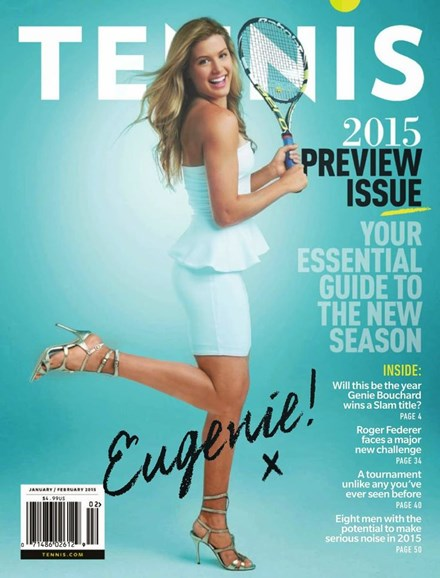 Tennis Magazine Cover - 1/1/2015