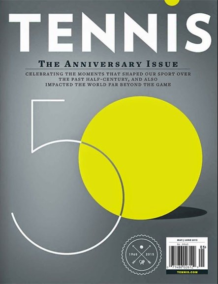 Tennis Magazine Cover - 5/1/2015