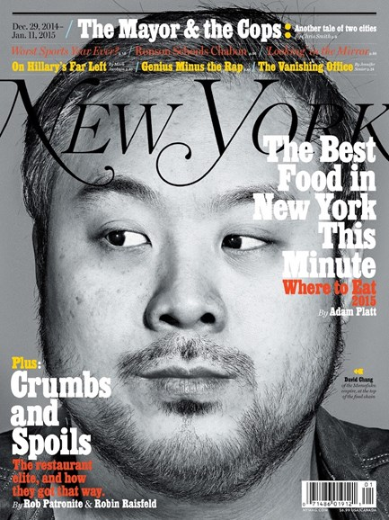 New York Magazine Cover - 12/29/2014