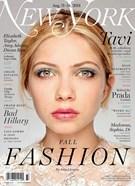 New York Magazine 8/11/2014
