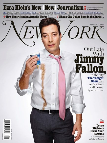 New York Magazine Cover - 2/10/2014