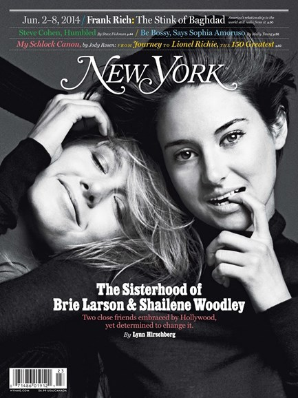 New York Magazine Cover - 6/2/2014