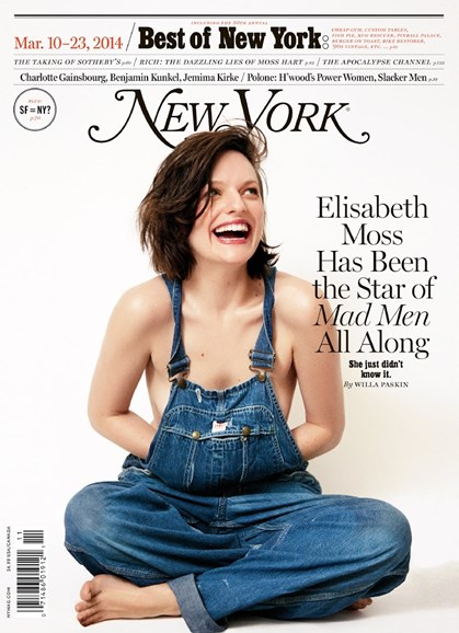New York Magazine Cover - 3/10/2014