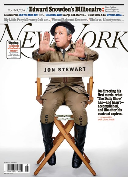 New York Magazine Cover - 11/3/2014