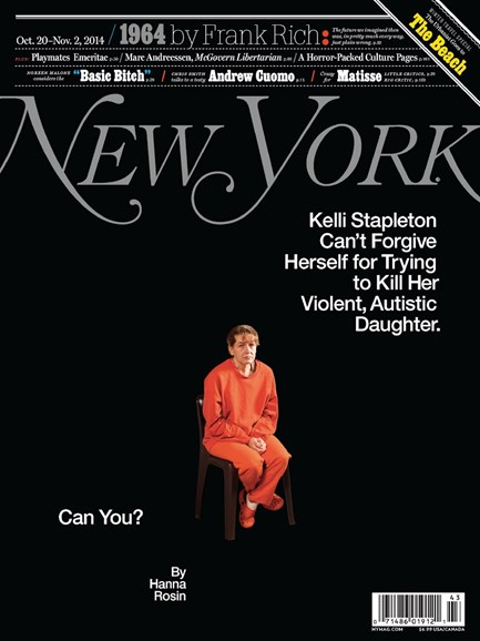 New York Magazine Cover - 10/20/2014
