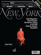 New York Magazine 10/20/2014