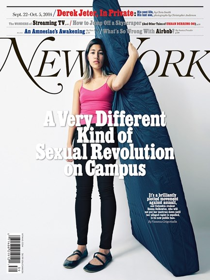 New York Magazine Cover - 9/22/2014