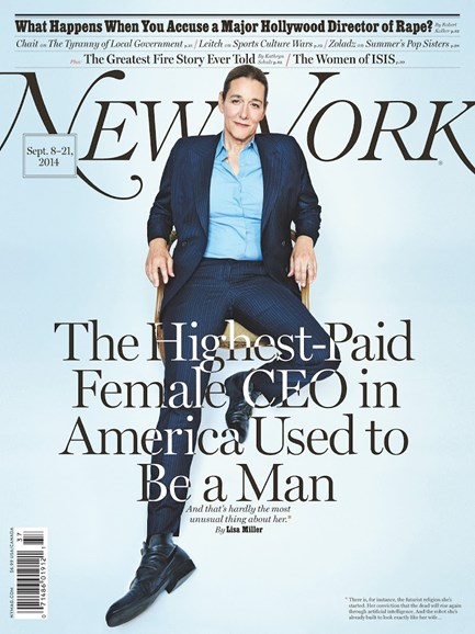 New York Magazine Cover - 9/8/2014