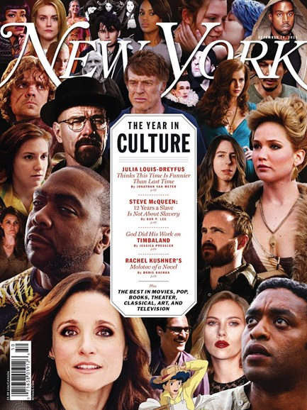 New York Magazine Cover - 12/16/2013
