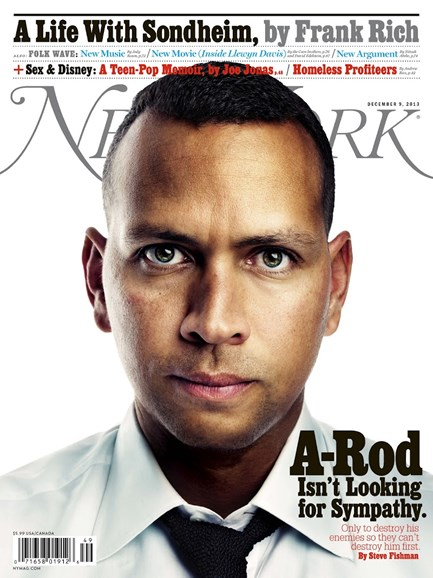 New York Magazine Cover - 12/9/2013