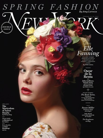 New York Magazine Cover - 2/18/2013
