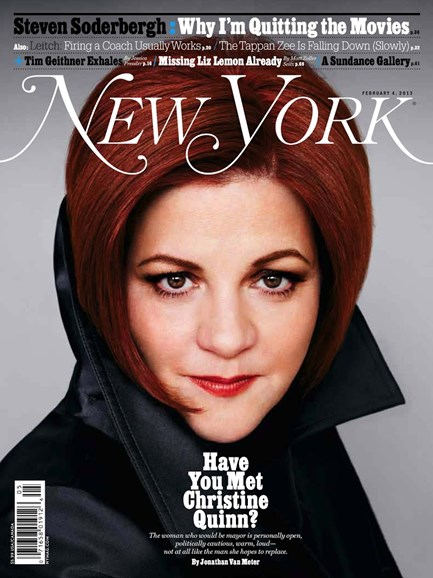 New York Magazine Cover - 2/4/2013