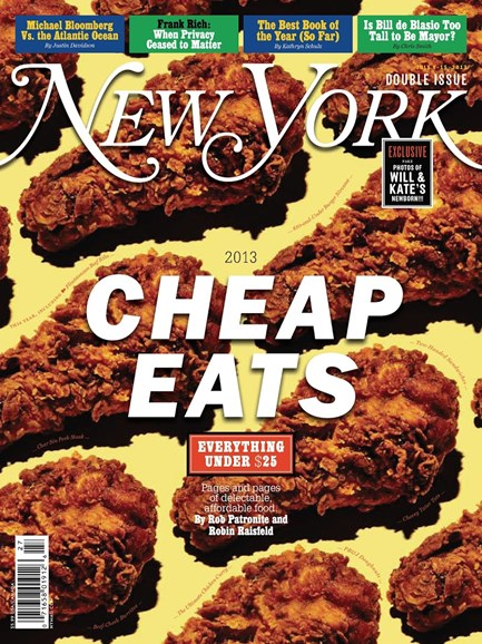 New York Magazine Cover - 7/8/2013
