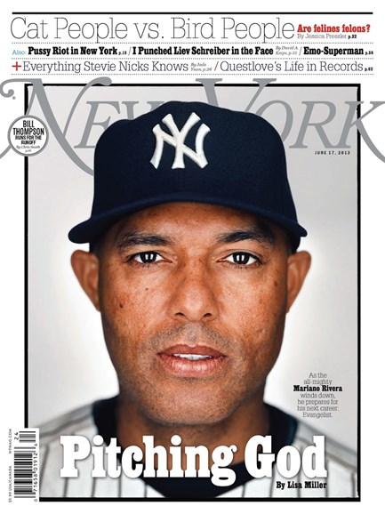 New York Magazine Cover - 6/17/2013
