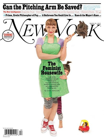 New York Magazine Cover - 3/25/2013