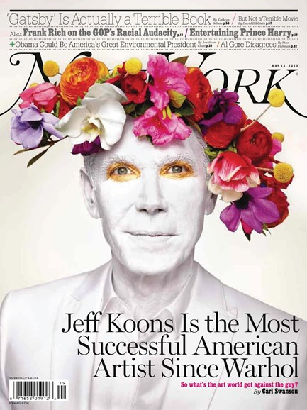New York Magazine Cover - 5/13/2013