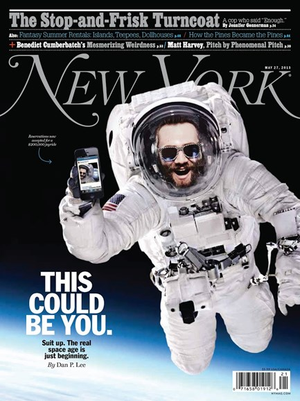 New York Magazine Cover - 5/27/2013