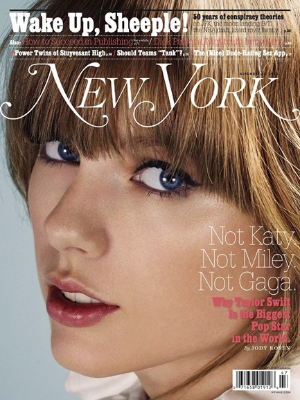 New York Magazine Cover - 11/25/2013