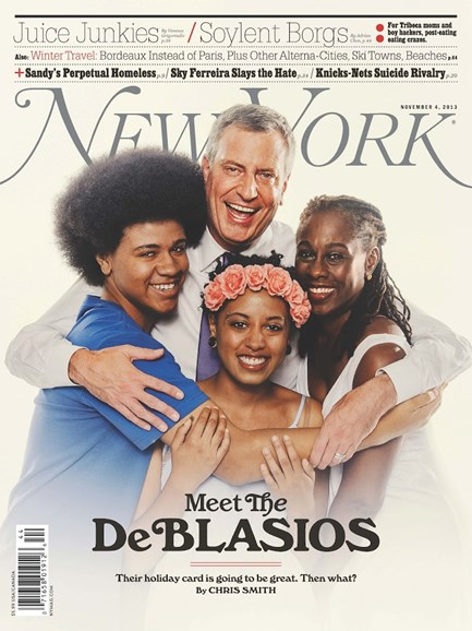 New York Magazine Cover - 11/4/2013