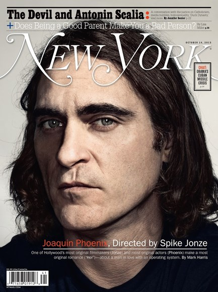 New York Magazine Cover - 10/14/2013