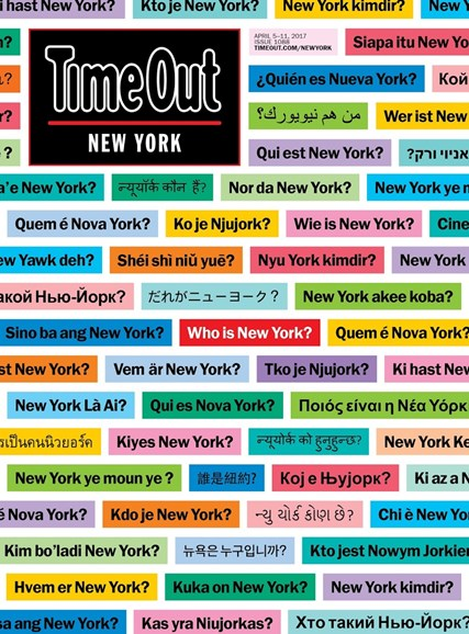 Time Out New York Cover - 4/5/2017