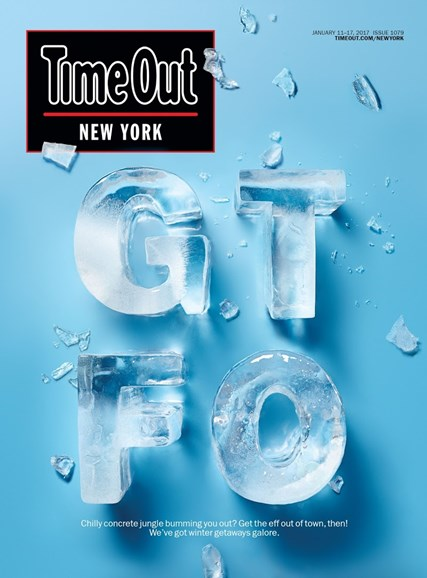 Time Out New York Cover - 1/11/2017