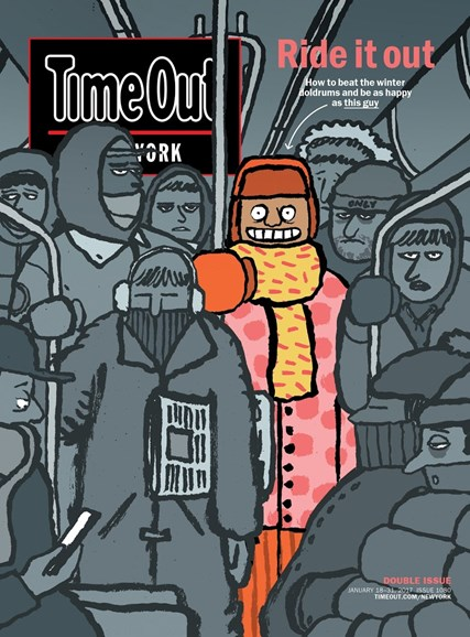 Time Out New York Cover - 1/18/2017