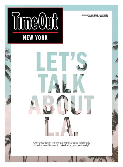 Time Out New York Cover - 1/4/2017