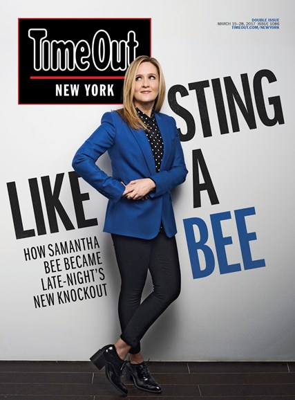 Time Out New York Cover - 3/15/2017