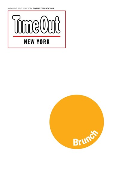 Time Out New York Cover - 3/1/2017